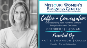 Coffee + Conversation: Understanding Your Numbers to Make Everyday Business Decisions @ Zoom