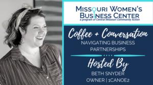 Coffee + Conversation: Navigating Business Partnerships @ Zoom