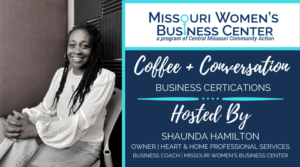Coffee + Conversation: Woman and Minority Owned Business Certifications @ Zoom