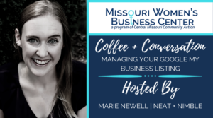 Coffee + Conversation: Managing Your Google My Business Listing @ Zoom