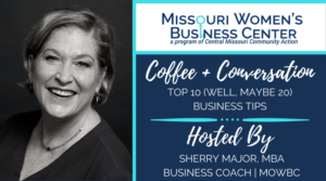 Coffee + Conversation: Top 10 (Well, Maybe 20) Business Tips @ Zoom