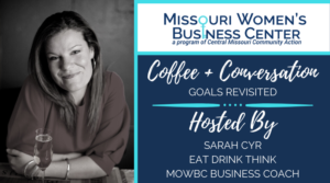 Coffee + Conversation: Goals Revisited @ Zoom
